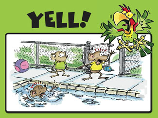 Yell and Tell Pools Safety Powerpoint