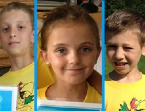 Emma, Logan and Wyatt