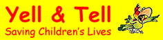 Yell and Tell Retina Logo