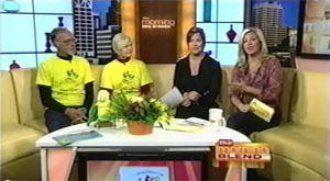 Yell and Tell on Morning Blend in the News