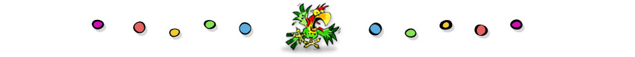 Squawk mascot bird of Yell and Tell Safety Program